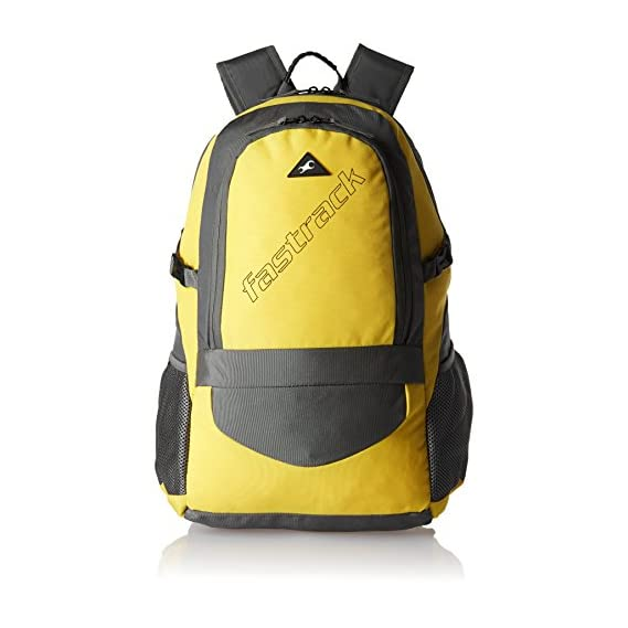 Fastrack 35.03 Ltrs Yellow Casual Backpack (A0667NYL01)