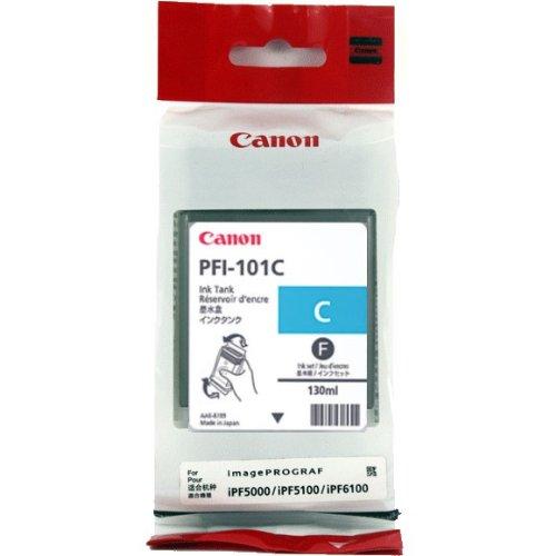 Druckerpatrone, Tintenpatrone CANON IPF5000/6000 CYAN IMAGE PROGRAF PFI-101C #0884B001 (Canon Ipf5000 Tintenpatrone)