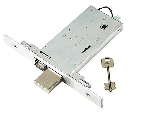 Cerradura eléctrica doble Mapa para puertas de aluminio. Acabado de a