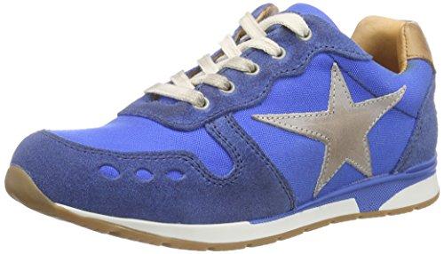 Bisgaard Shoe with Laces, Baskets Basses Mixte Enfant Bleu (149 Skydiver)