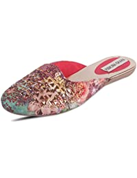 ANAND ARCHIES Artificial Leather Pink Jutis for Girl's & Women's (AA-341-P)