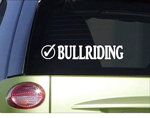nd Stickers Bullriding Check *I008* 8