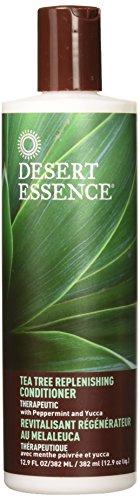 Feuchtigkeitsspendende Feuchtigkeitsspendende Haar-conditioner (Desert Essence Teebaum-Spülung, 31,8 ml)