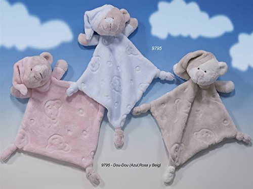 Gamberritos 9795 Doudou ourson Rose
