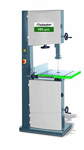 Holzkraft scie à ruban pour bois HBS 400 – hauteur coupe 305 mm – Dimensions Table 530 x 480 mm