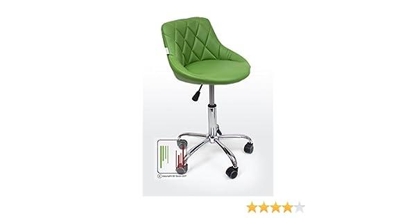 Stil sedie gaia sedia sgabello da cameretta con rotelle larghezza