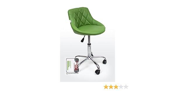 Stil sedie gaia sedia sgabello da cameretta con rotelle