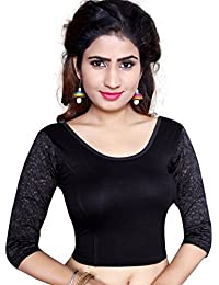 CDPL Express Women's Stretchable Designer Pure Cotton Lycra Stitched Readymade Blouse