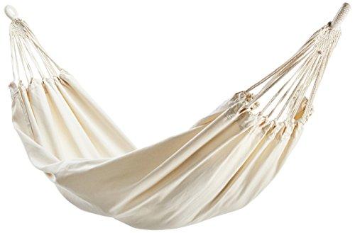 10T Relax 145 XL Hängematte für 1 - 2 Person breite Tuchhängematte 180x145cm Hängeliege aus 100% Natur Baumwolle Garten-Liege