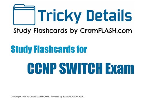 Tricky Details CramFLASH Flashcards covering CCIE Written Exam (English Edition)