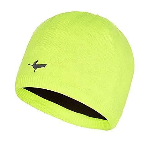 Sealskinz Waterproof Hat Beanie - Hi Vis Yellow, Large/X-Large