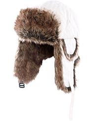 Bonnet Chapka avec doublure type fourrure