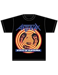 Collector's Mine Anthrax-State of Euphoria - T-shirt - Homme