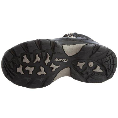 Hi-Tec  Altitude IV WP, Chaussures randonnée mixte enfant Noir (noir pleine fleur)