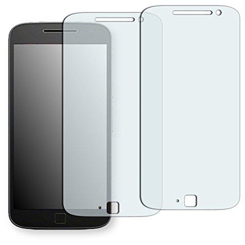 Displayschutzfolie Moto E Matt (Lenovo Moto G4 Plus Displayschutzfolie - 2x Golebo Schutzfolie Folie