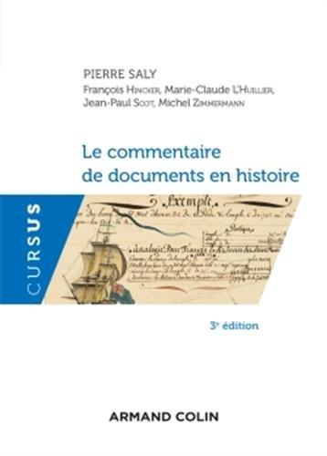 Le commentaire de documents en histoire -3ED NP