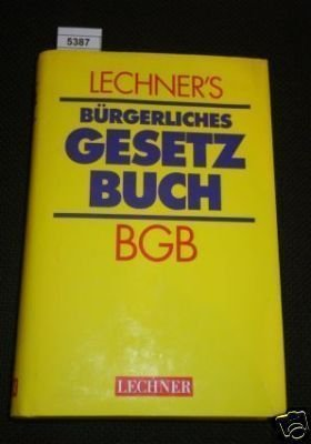 Deutscher Taschenbuch Verlag BGB. Bürgerliches Gesetzbuch