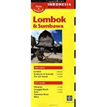 Periplus Travek Maps Lombok: Indonesia Regional Maps