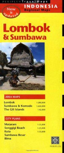 Lombok (Periplus Travel Maps)