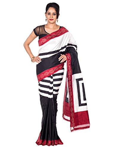 Rajarams Stripes Pattern Patola Pure Handloom Silk