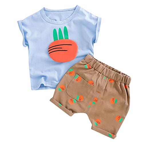 Karotten Outfit - Sannysis 2tlg Baby-Jungen Bekleidungsset Baumwolle Sommerkleidung
