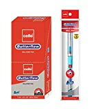 #10: Cello Butterflow Ball Pen Set - Pack of 10 (Blue)