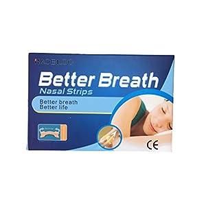 LisaCare 20 Stück Nasenpflaster gegen Schnarchen Nasenstrips Nasenspreizer Schnarchstopper