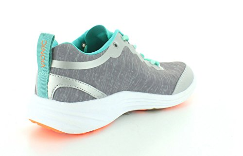 Vionic by Orthaheel Women's Fyn Grey Fabric Athletics 10 B(M) US Light Grey