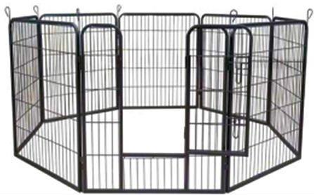 Welpenfreigehege YOUNG DOGS Größe L der Marke MYPETS Laufgitter Welpenauslauf Freigehege