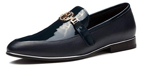 OPP Caballero Hombre Casual Cuero Zapatos 41 EU Azul