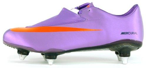 Nike Mercurial vapor 6 sg 396123584, Football Homme Violett - Violet, noir et orange