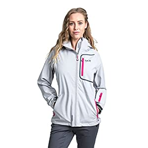 41U0ulYl7NL. SS300  - Trespass Women's Gita II Waterproof Rain Outdoor Jacket with Removable Hood