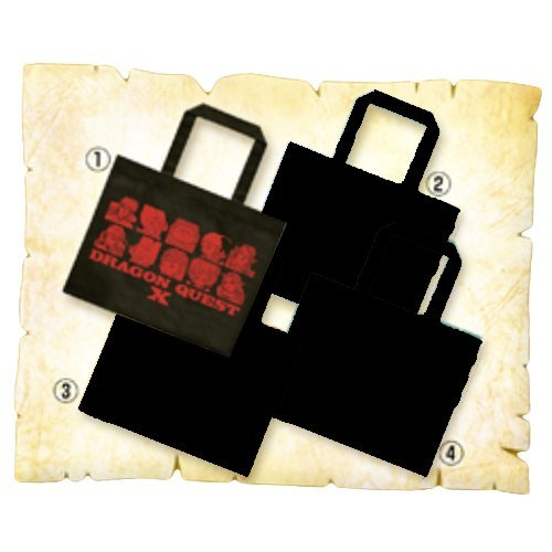 Dragon Quest lottery office Special X F award Tote Dragon Quest X Black single item (japan import) (Lottery Quest Dragon)