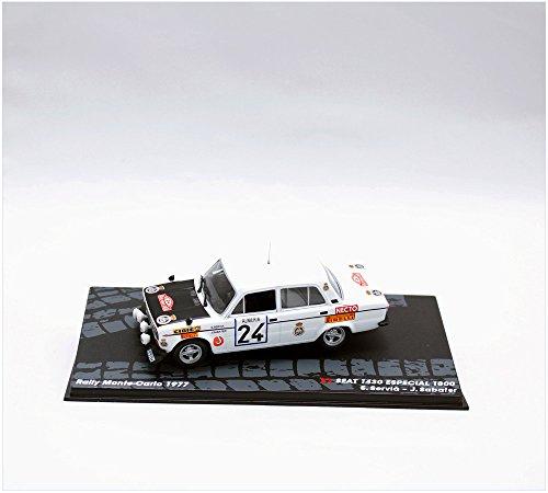 Rally Cars IXO 1:43 1/43 SEAT 1430 1800 GR 4 1977 Servia-Sabater RAL102 - 1430 Car
