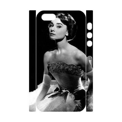 LP-LG Phone Case Of Audrey Hepburn For iPhone 5,5S [Pattern-6] Pattern-6
