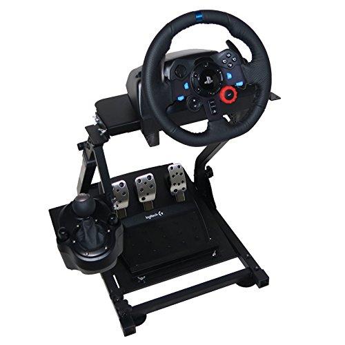 OldFe G29 Steering Wheel Stand Per Logitech G27 G25 G29 E G920 Volante Con Supporto V2 Supporto Giochi Solo Supporto Ruota E Pedale Non Incluso