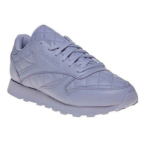 Reebok Classic Leather Quilted Donna Sneaker Porpora Porpora
