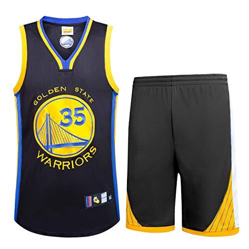 Basport NBA Durant No. 35 Jersey Basket Maschile Abbigliamento T-Shirt  Suit e555ad1c3543