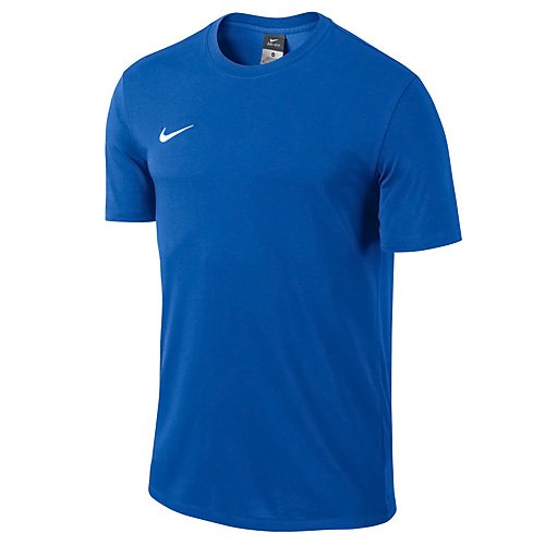 Nike Kinder T-shirt Club Blend Royal Blue/White, L - Nike Blaues T-shirt