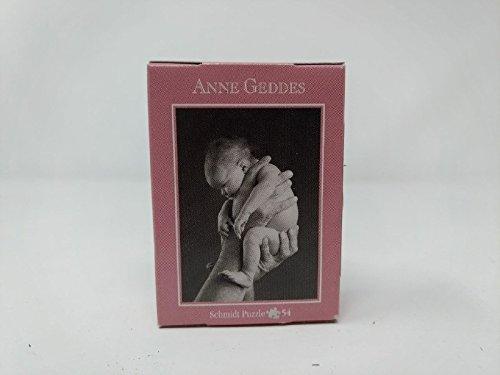 Schmidt - Anne Geddes - Super-Mini-Puzzle - Bimbo sollevato da mani (bianco...