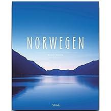 NORWEGEN - Ein Premium***-Bildband in stabilem Schmuckschuber mit 224 Seiten und über 330 Abbildungen - STÜRTZ Verlag