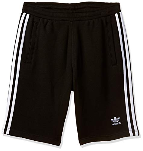 adidas Herren 3-Stripes Shorts, Black, L -