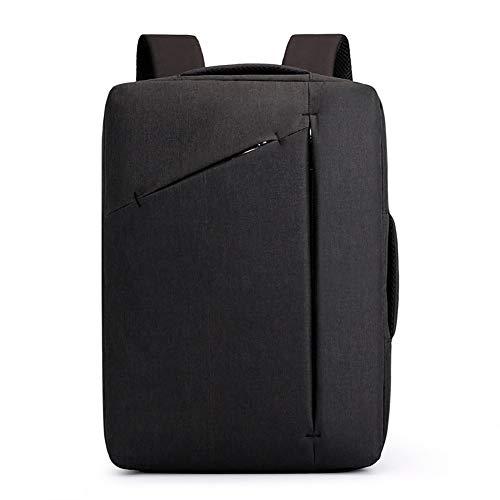 Business Office Laptop-Tasche, Jugend College Campus Rucksack, wasserabweisend und tragbar Oxford Stoff Rucksack, geeignet für Arbeit/Business/College/Männer/Frauen-Black - Standard-notebook-speicher