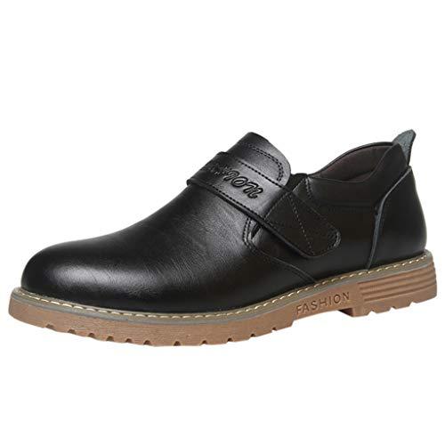 Altezza Aumentare Scarpe da Uomo Nero Quarter Brogue Derby Vestito Estivo Scarpe Alte Scarpe da Lavoro Casual con Lacci Scarpe A Testa Tonda Scarpe da Uomo Antiscivolo