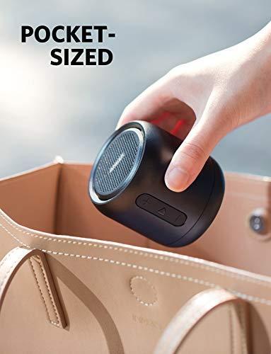 Anker SoundCore Mini Super Mobiler Bluetooth Lautsprecher Speaker mit 15 Stunden Spielzeit, 20 Meter Bluetooth Reichweite, FM Radio und Starken Bass (Schwarz) - 9