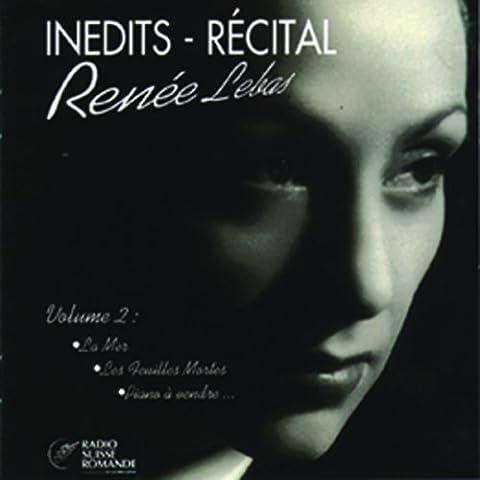Renee Lebas - Inedits Recital Vol