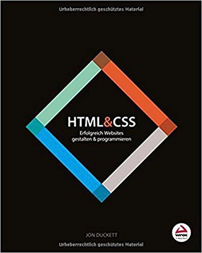 HTML & CSS: Erfolgreich Websites gestalten und programmieren Buch-Cover