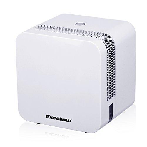 Excelvan 650ml Semiconductor, Deshumidificador de Aire, Deshumidificador Portátil de Bajo Consumo y Silencioso, Protección Ambiental, EF8831