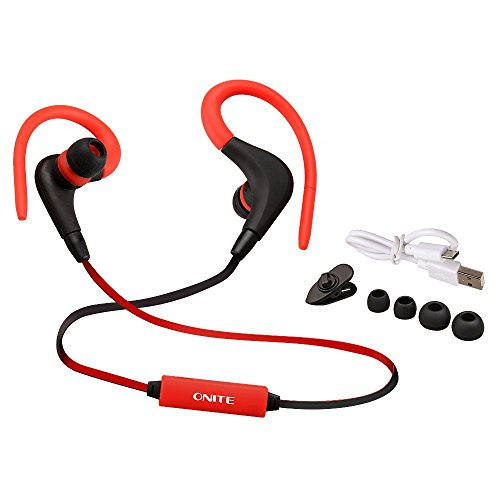 Onite Auricolare Bluetooth 4.1 Headset Stereo per Sport, Earphone Bluetooth Cuffie Wireless con Microfono per Handy,Smartphone,Tablet PC,