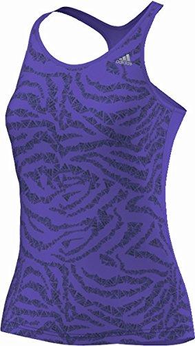 GRAPHIC TANK W VIO - Débardeur Entrainement Femme Adidas Violet